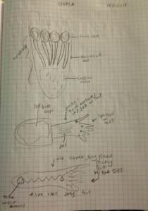 Current sketch ideas