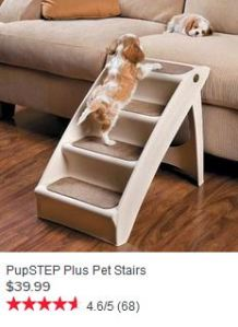 Pet Stairs, for example.  Useful, but really necessary?