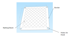 Google SketchUp Model of Buckle Blanket