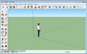 Example of what the Google SketchUp page looks like.
