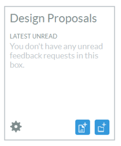 My Kaizena happily shows all design proposals read!