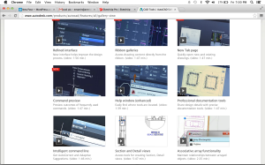 AutoCad features easy-to learn videos on their website