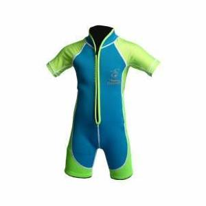 This wet suit is an example of how Neoprene fabric is used.