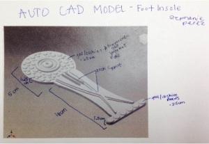 Sofia's sketch of the design.