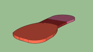 a digital 3-D model of our insole