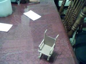 Wheelchair prototype