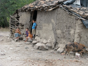 Typical housing in rural Nicaragua courtesy of National Geographic.