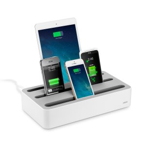 This is an example of an existing phone charging station on the market. (Amazon.com)