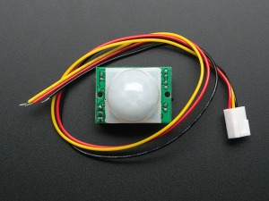 This is a picture from the Adafruit website of the PIR motion sensor.
