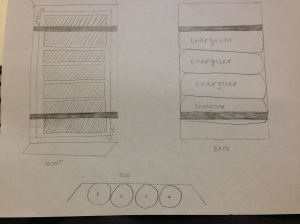 Original Sketch of Make Your Own Light Design