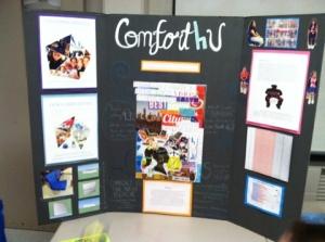The Comfort4U final presentation at Make-o-Rama