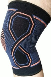 Product by Kunto Fitness Knee Brace Compression Support Sleeve
