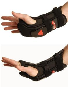 The hard plastic on the bottom helps protect injuries, put still causes uncomfort