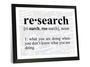 re-search definition