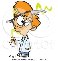 1243295-clipart-of-a-cartoon-caucasian-boy-scientist-with-an-experiment-gone-bad-royalty-free-vector-illustration